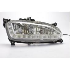 Штатные дневные ходовые огни DRL LED-DRL для Hyundai Santa Fe 2013+