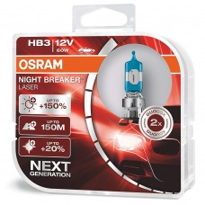 Галогенная лампа Osram Night Breaker Laser HB3 +150% 60W 9005NL-HCB (2 шт.)