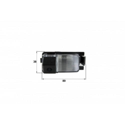 Камера заднего вида Nissan Livina, Genesis, GT-R (Falcon SC22HCCD-170)