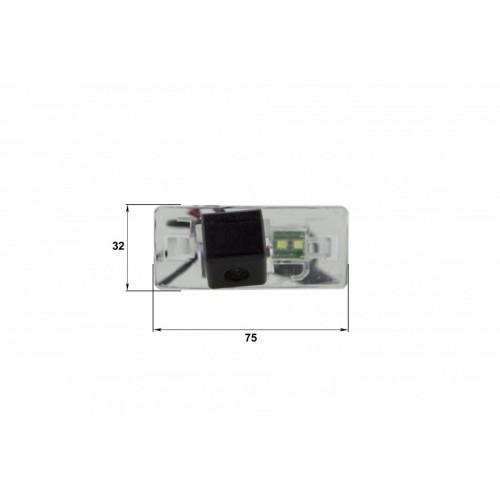 Камера заднего вида Audi A4L, TT, A5 (Falcon SC53HCCD-170)