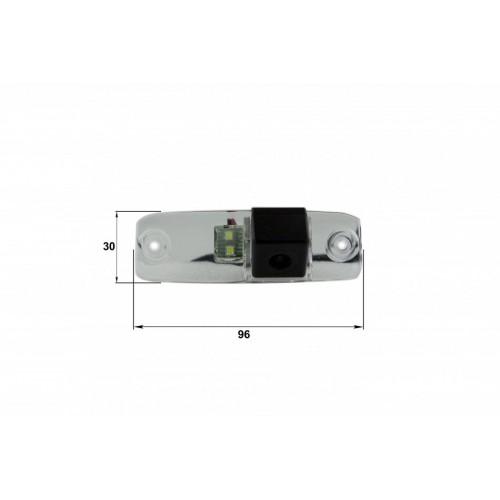 Камера заднего вида Hyundai Elantra, Sonata 2011, Tucson, KIA Sorento (Falcon SC07HCCD-170)