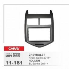 Рамка переходная для автомагнитолы CARAV 11-181 2-Din