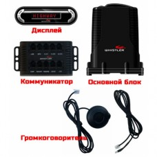 Антирадар Whistler Pro-3600Ru GPS