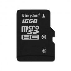 Карта памяти 16Gb microSDHC, Kingston, Class10