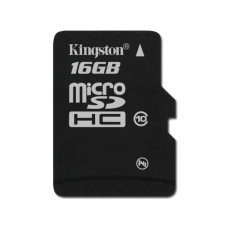 Карта памяти 16Gb microSDHC, Kingston, Class10