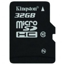 Карта памяти 32Gb microSDHC, Kingston, Class10