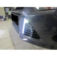 Штатные дневные ходовые огни DRL LED-DRL для Ford Focus 2012+ V2