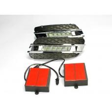 Штатные дневные ходовые огни DRL LED-DRL для Mercedes ML W164 05-08