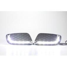 Штатные дневные ходовые огни DRL LED-DRL для Mercedes Smart Fortwo 08-11