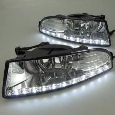 Штатные дневные ходовые огни DRL LED-DRL для Skoda Superb II 2008-2012