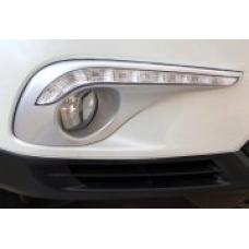 Штатные дневные ходовые огни DRL LED-DRL для Toyota Highlander с 2010 - 8LED