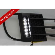 Штатные дневные ходовые огни DRL LED-DRL для VW Golf 6 GTI 2009+