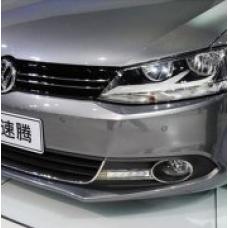 Штатные дневные ходовые огни DRL LED-DRL для VW Jetta 2011+