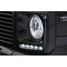Штатные дневные ходовые огни DRL LED-DRL для Mercedes G-Class W463 2000-2012