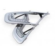 Штатные дневные ходовые огни DRL LED-DRL для Peugeot 2008