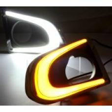 Штатные дневные ходовые огни DRL LED-DRL для Chevrolet Tracker 2013+ V2