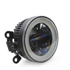 LED светодиодные ПТФ с линзой и ДХО LED-DRL для Ford V2