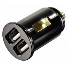 USB зарядка для автомобиля 2 порта 3А
