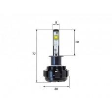 Светодиодная LED лампа Sho-Me G1.4 H1 (комплект 2шт)