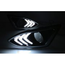 Штатные дневные ходовые огни DRL LED-DRL для Ford Edge 2016+