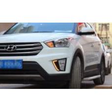 Штатные дневные ходовые огни DRL LED-DRL для Hyundai Creta V2