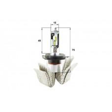 Светодиодная LED би лампа Sho-Me G6.2 H4 (ближний-дальний) (комплект 2шт)