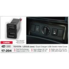 Штатный USB разъем CARAV 17-204