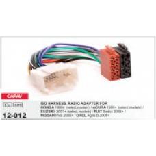 ISO адаптер для подключения магнитолы CARAV 12-012