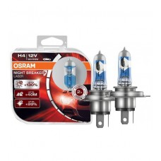 Галогенная лампа Osram H4 NIGHT BREAKER LASER +130% 55W 64193NBL-HCB DUO (2шт.)