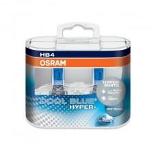 Галогенная лампа Osram HB4 COOL BLUE HYPER+ +50% 12V 69006CBHP-HCB DUO (2шт.)