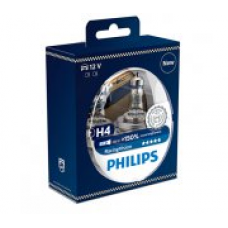Галогенная лампа Philips H4 RacingVision +150% 55W 12342RVS2 2шт