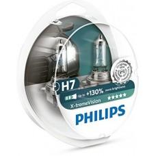 Галогенная лампа Philips H7 X-tremeVision +130% 12V 12972XVS2 (2шт.)