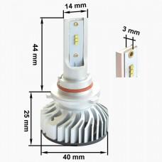Светодиодная LED лампа Prime-X Z HB4/9006 5000K (комплект 2шт)