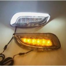 Штатные дневные ходовые огни DRL LED-DRL для Lexus RX 2003-2009