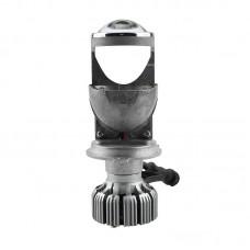 Светодиодная автолампа LED проектор с линзой iPHCAR G9 LED H4 Hi/Low 10000-8000 LM 2шт