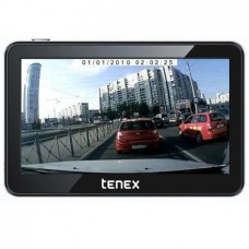 GPS навигатор Tenex 50D с видеорегистратором
