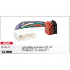 ISO адаптер для подключения магнитолы CARAV 12-005