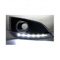 Штатные дневные ходовые огни DRL LED-DRL для Hyundai IX35 2010+V1
